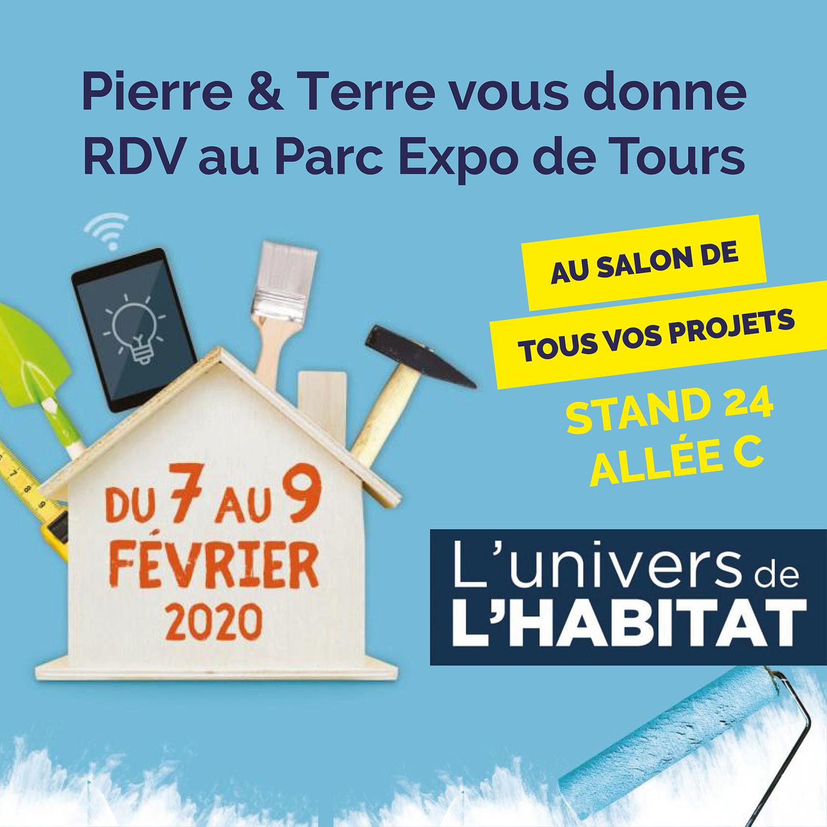 Pierre & Terre au salon 'L'univers de l'habitat' 2020